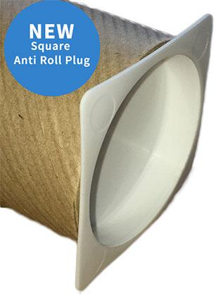 Square anti roll plug